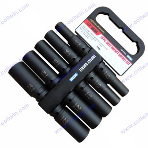 1/2″Dr.10pcs Impact Socket CRMO steel