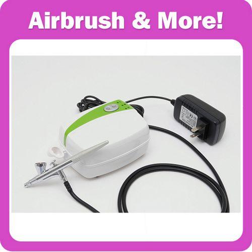 Portable Makeup Airbrush Kit with Mini Airbrush Compressor